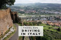 Travel Tips : Driving in Italy (Land Of Marvels)