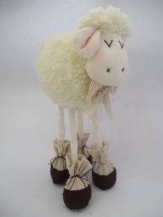 ovelha para de coração R$ 59,00