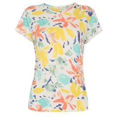Paul Smith Women s  Palette Floral  Print Jersey T-Shirt (345 PLN) c49c08b61265