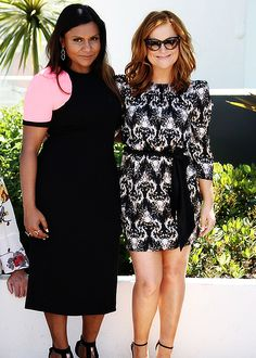Mindy and Amy at Cannes