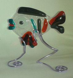 https://flic.kr/p/uE5XgC | Art.0045pesci.p |  Bomboniere PESCI in vetro fusione ,PESCE GRANDE  cm 9 x 7 , € 10,00 / PESCE PICCOLO cm 7 x 5 ,€ 6,00