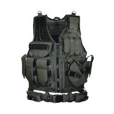 Leapers 547 Law Enforcement Tactical Vest Black
