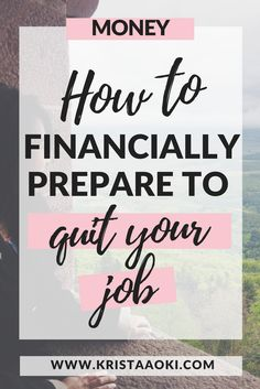 Do you wonder what to do when you want to quit your job and travel? If you need inspiration for how to financially prepare to quit your job, work from home, pursue your passion, and be your own boss, you should read this guide. #workfromhome #digitalnomad