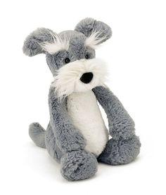 Bashful Hund Schnauer Kuscheltier von Jellycat - Bonuspunkte sammeln, auf Rechnung bestellen, DHL Blitzlieferung!