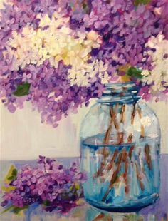 """Daily Paintworks - """"Upwardly Mobile"""" - Original Fine Art for Sale - © Libby Anderson"""