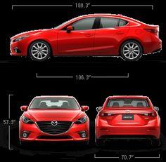 2015 Mazda 3 Sedan - Specs & Features | Mazda USA
