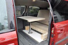 camperizing a minivan