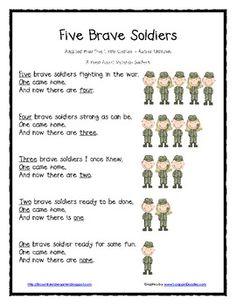 preschool veterans day printables | ... for Veterans Day - Lil Country Kindergarten - TeachersPayTeachers.com