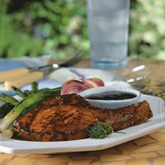 Rosemary and Garlic Simmered Pork Chops Allrecipes.com | WHAT'S COOKIN ...