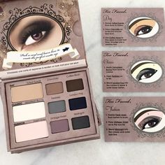 NIB Too Faced 'Matte Eye' Palette This NEW! In box Too Faced 'Matte Eye' Palette. Never been used and only open to take pictures. Comes complete with 3 eye cards on how-to achieve the perfect day to night look eye using matte shades. Never been used. No swatches. In perfect condition. More questions? Please ask. Every single item in my store is 100% Authentic. No trades. Too Faced Makeup Eyeshadow