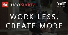 TubeBuddy's browser plugin helps YouTube creators save time and grow their channels through innovative tools.