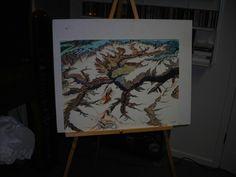 Grand canyon drawing