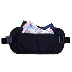waist bag high quality travel waist hiking pouch belt money wallet outdoor sport bags Passport Holders Change Safe Strap