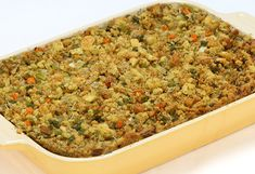 My husband LOVES this stuffing!  I make it every year for Thanksgiving and Christmas.  Glad I watched the Oprah episode that featured this recipe.