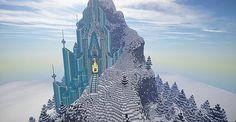 Frozen – Elsa's Ice Castle | Minecraft Building Inc