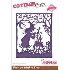 CottageCutz Elites Die Midnight Witches Brew