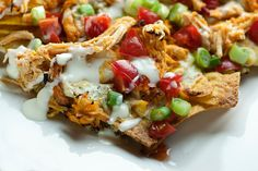 Buffalo Chicken Nachos - Framed Cooks