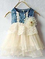 Vestidos (de Algodao ) - MENINA - Sem Mangas - Medio - Micro-Elastico