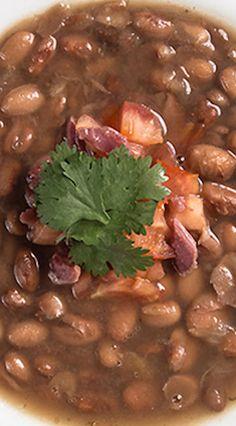Pressure Cooker Smoky Ham Hock & Pinto Bean Soup