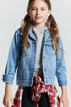 Girls Denim Jacket (Kids)