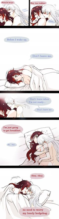 2)Became more cute <3                       (Ruby and Weiss) ^_~