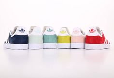 PICK YOUR COLOR❓ Adidas Shoes Gazelle Low Sneakers  SHOP NOW   http://www.hoodboyz.co.uk/adidas/