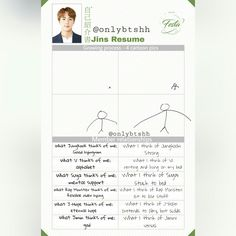 [ENG TRANS] Jin's Resume (Part: 3/5)~ 2017 BTS FESTA Day 11! Not only do I translate, but I edit the original.. it takes a long time lol. I hope you understand. I kinda rushed. I like things to be complete and perfect tho. I could just write out translations, but I like to do it this way~ ❤ #BTS #방탄소년단