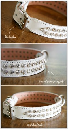 Swarovski crystal dog collar! One day when I have my shihtzu or whichever little dog I rescue