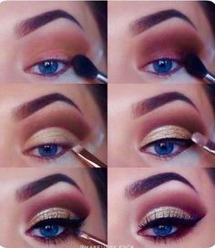If you want to transform your eyes and increase your appearance, finding the very best eye make-up recommendations can help. You want to make sure you put on make-up that makes you look even more beautiful than you already are. Wedding Makeup Tips, Natural Wedding Makeup, Eye Makeup Tips, Makeup Goals, Skin Makeup, Makeup Inspo, Eyeshadow Makeup, Natural Makeup, Makeup Inspiration