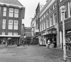 Koude Gat Groningen vanaf de Vismarkt gezien 1980