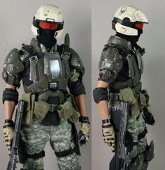 Halo Marine combat armour Halo Cosplay, Best Cosplay, Cosplay Armor, Paintball, Sci Fi Armor, Sci Fi Weapons, Casco Halo, Odst Halo, Halo Spartan