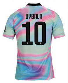 d961389905a Paulo Dybala  10 Adults Juventus 2019 EA Sports Shirt All Player Names    Customs