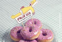Descargar topper para donuts