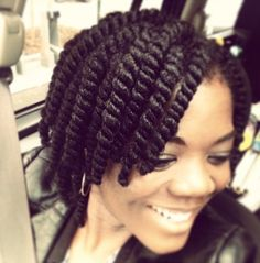 How to Do Two Strand Twists. Two-strand twists are a versatile hairstyle that can work on either short or long hair. The basic two-strand twists can be used as a base hairstyle for many different variations so that each hairdresser can. Natural Hair Twists, Natural Hair Care, Natural Hair Styles, Two Strand Twists, Chunky Twists, 2 Strand Twist Styles, Two Strand Twist Out, Hair Twist Styles, Twist Hairstyles