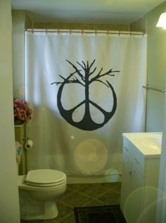 I'm DYING for this shower curtain.