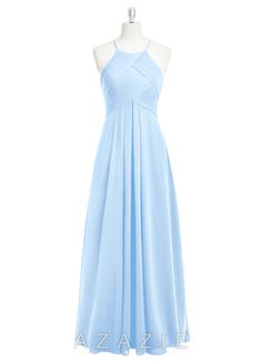 Shop Azazie Bridesmaid Dress - Ginger in Chiffon. Find the perfect made-to-order bridesmaid dresses for your bridal party in your favorite color, style and fabric at Azazie.