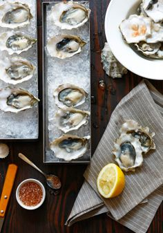 #Oysters on a half shell | Jason Varney Photography
