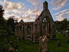 Balantradoch, ruined church of the Knights Templar.