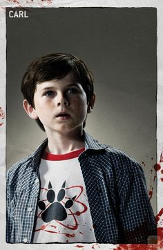 carl grimes walking dead sea 4 | The Walking Dead personajes en la serie y el comic