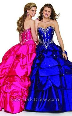 I love the midnight blue one :)    jeweled prom dresses @Autumn Lusby