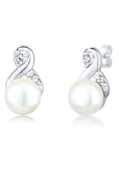 PERLU Pearl earrings for your wedding day