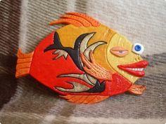 Лепим рыб из соленого теста или пластика.. Обсуждение на LiveInternet - Российский Сервис Онлайн-Дневников