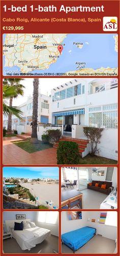 1-bed 1-bath Apartment in Cabo Roig, Alicante (Costa Blanca), Spain ►€129,995 #PropertyForSaleInSpain