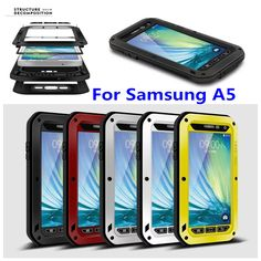 Russian Friend Pay Attention Please !!! – Please fill in receiver's full name due to new policy of Russian customs, any nondelivery would not be responsible if the client doesn't provide enough information when making order. For Samsung Galaxy A5 LOVE MEI Powerful Metal phone case Gorilla Glass Heavy ShockProof WaterProof Case +retail package Features: ...