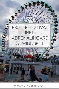 Prater Festival in Wien inkl. Prater Adrenalincard Gewinnspiel - Vickyliebtdich Techno, Dom, Ferris Wheel, Fair Grounds, Travel, Music Genre, Roller Coaster, Families, Road Trip Destinations