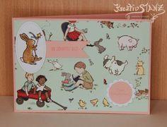 KreativStanz Stempelset Glücksschweinchen von Stampin' Up! Einschulung Schulanfang Schulranzen Stanz- und Falzbrett für Geschenktüten#stampinup #school http://kreativstanz.bastelblogs.de/