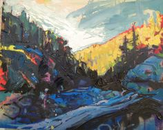 Some nice Canadian landscape paintings by recent ocad grad Cameron Scarth