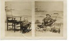 This old sideshow cabinet card appears to show a person with osteogenesis imperfecta