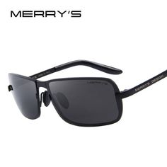 384405b4ff FuzWeb MERRY S Design Men Classic CR-39 Sunglasses HD Polarized Sun glasses  Luxury Shades