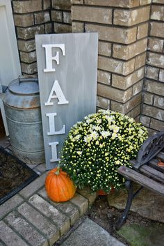 The Wannabe Fall Front Porch